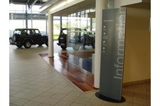 DIR071 - Custom Wayfinding Sign for Auto Dealerships & Services